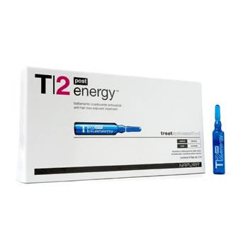 T2 Energy Post (Против выпадения) Ампулы-флаконы. После шампуня