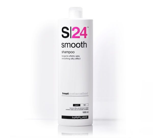 Napura S24 Smooth Шампунь для прямых волос